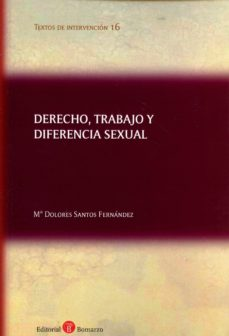 Libro DERECHO, TRABAJO Y DIFERENCIA SEXUAL