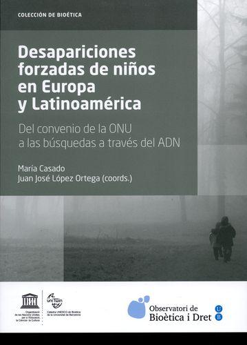 Libro DESAPARICIONES FORZADAS DE NIÑOS EN EUROPA Y LATINOAMÉRICA.