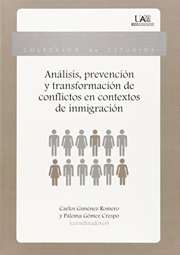 Libro PREVENCIÓN DE CONFLICTOS DE INMIGRACIÓN