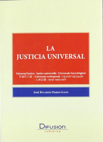 Libro LA JUSTICIA UNIVERSAL