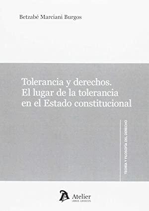 Libro TOLERANCIA Y DERECHOS
