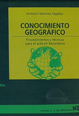 Libro CONOCIMIENTO GEOGRÁFICO