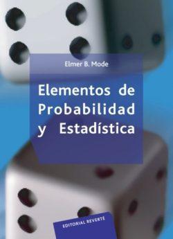 Libro ELEMENTOS DE PROBABILIDAD Y ESTADÍSTICA