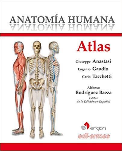 Libro ATLAS DE ANATOMÍA HUMANA