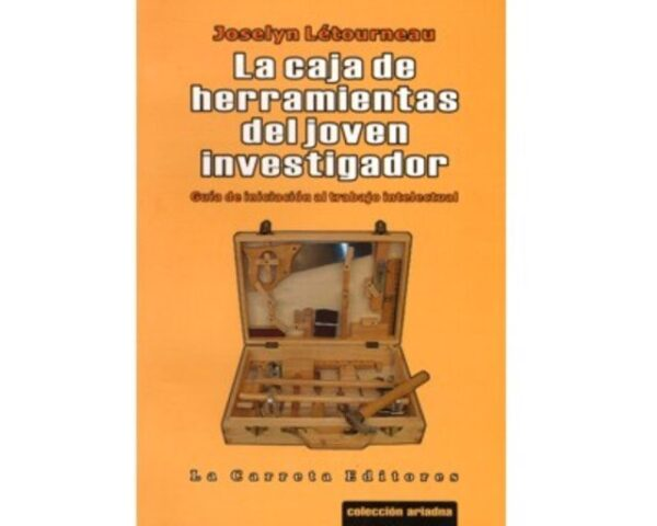 Libro CAJA DE HERRAMIENTAS DEL JOVEN INVESTIGADOR