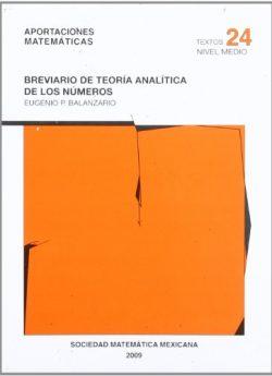 Libro BREVIARIO DE TEORÍA ANALÍTICA DE LOS NÚMEROS